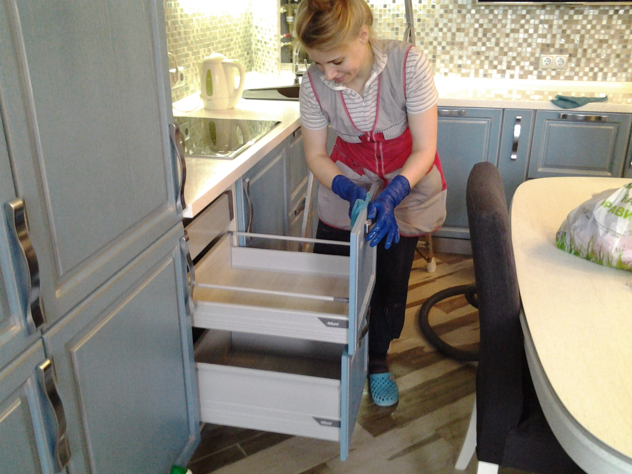 Уборка на кухне - правила и советы с 70